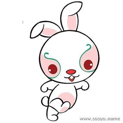 糯米兔可爱图片