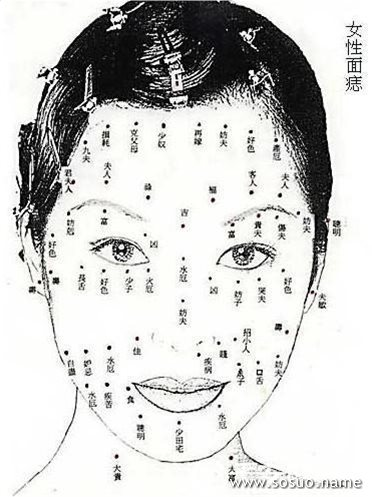 女人脸上的痣固)�_女人脸上长痣好吗