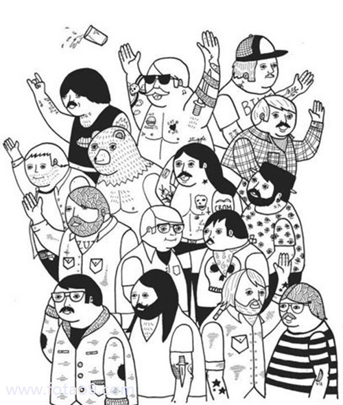 动漫 简笔画 卡通 漫画 手绘 头像 线稿 500_590