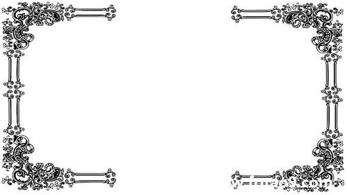 ppt 背景 背景图片 边框 模板 设计 相框 500_281
