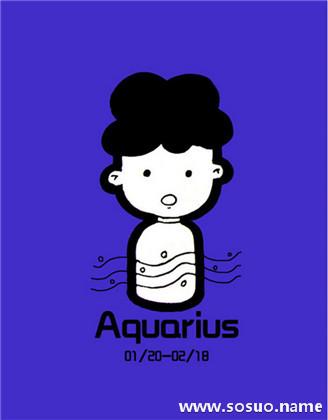 水瓶座1月21日出生的人是水瓶座